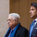 Abu Mazen Mahmoud Abbas incontra Giuseppe Conte a Roma