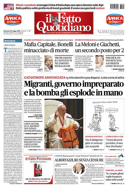 il Fatto Quotidiano 29052016