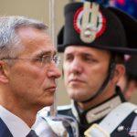 Jens Stoltenberg a Roma