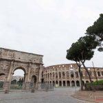 Arco di Costantino - Il lockdown per l'emergenza Coronavirus / Covid-19 in Italia