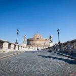 Castel Sant'Angelo - Il lockdown per l'emergenza Coronavirus / Covid-19 in Italia
