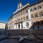 Montecitorio - Il lockdown per l'emergenza Coronavirus / Covid-19 in Italia