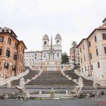 Piazza di spagna - Il lockdown per l'emergenza Coronavirus / Covid-19 in Italia