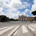 San Giovanni in Laterano - Il lockdown per l'emergenza Coronavirus / Covid-19 in Italia