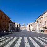 Via della Conciliazione - Il lockdown per l'emergenza Coronavirus / Covid-19 in Italia