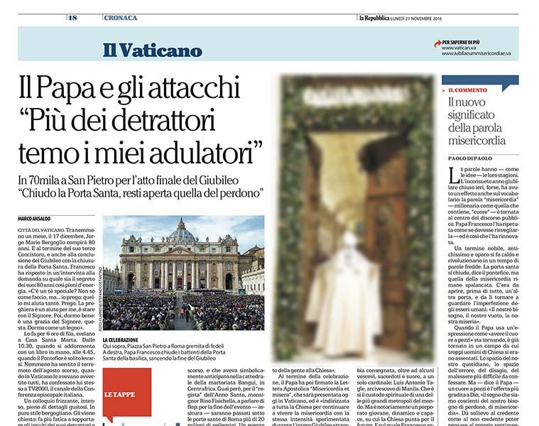 la Repubblica 21112016