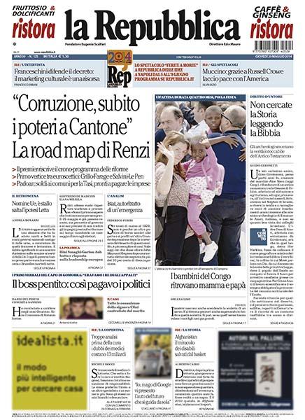la Repubblica 29052014