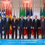 foto family Summit of the Southern EU Countries
